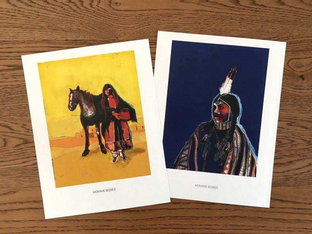 """(L) """"Taos/Pueblo"""" • (R) """"Tan-Nah"""""""