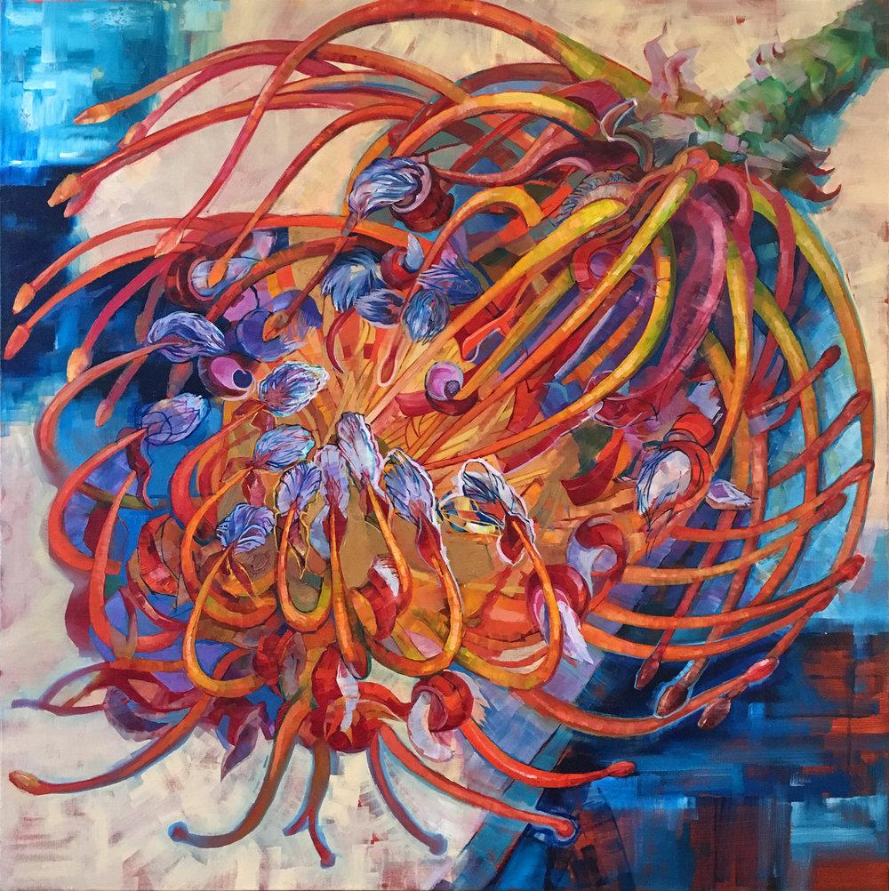 """""""Proteas"""" Oil on canvas, 2015 ®Miron Kiriliv"""