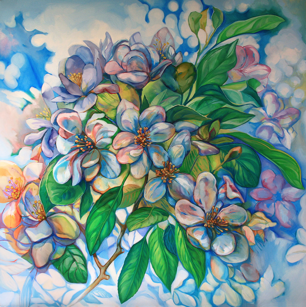 """Blossoming"" Oil on canvas, 2011 ®Miron Kiriliv"