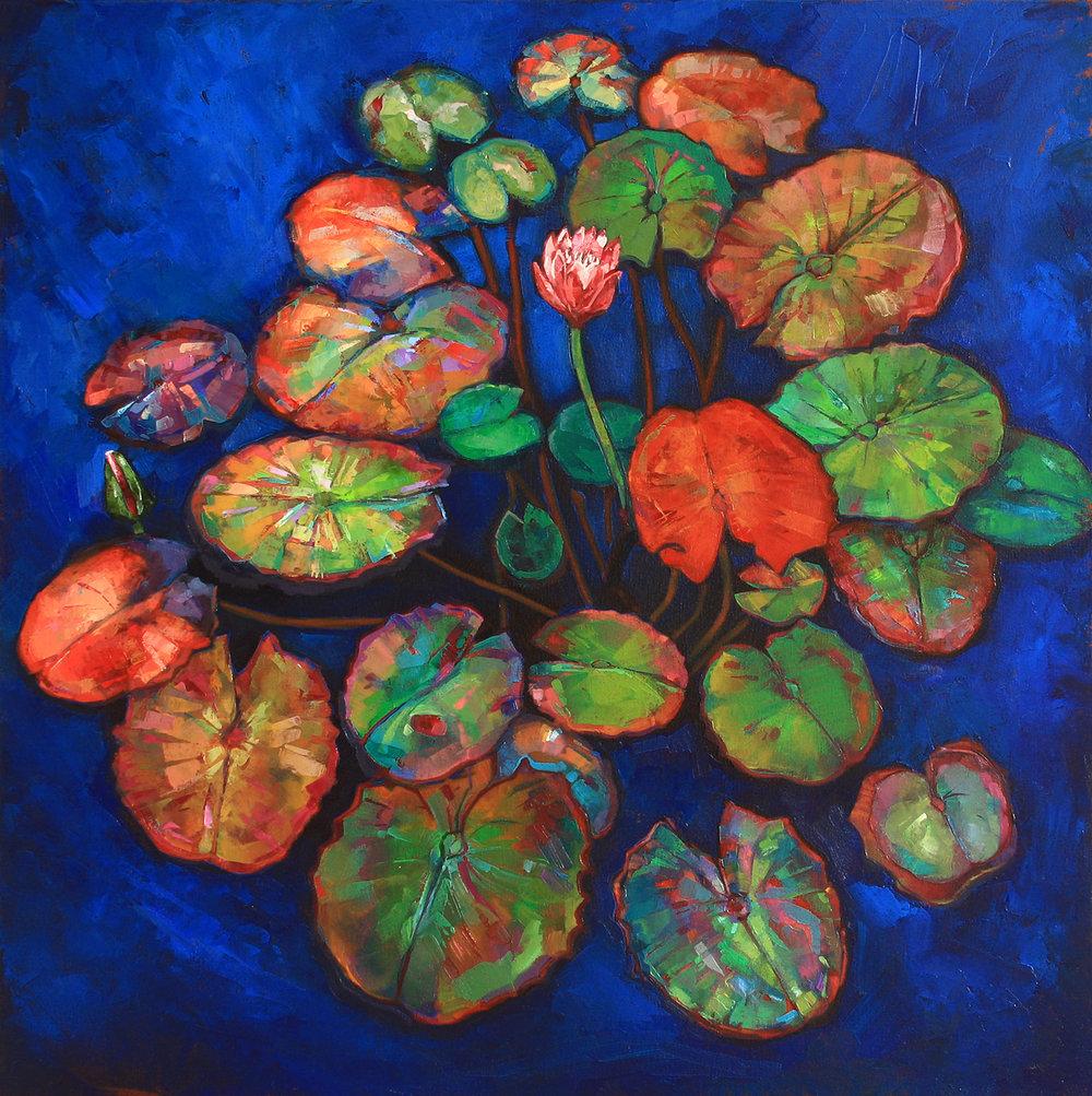"""Waterlily"" Oil on canvas, 2013 ®Miron Kiriliv"