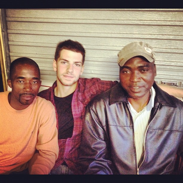Peter,Zach,David (Taken with  Instagram  at Guguletu, South Africa)