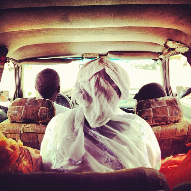 Crammed ride for 3 hours in s'etpas (Taken with Instagram at Mbour, Senegal)