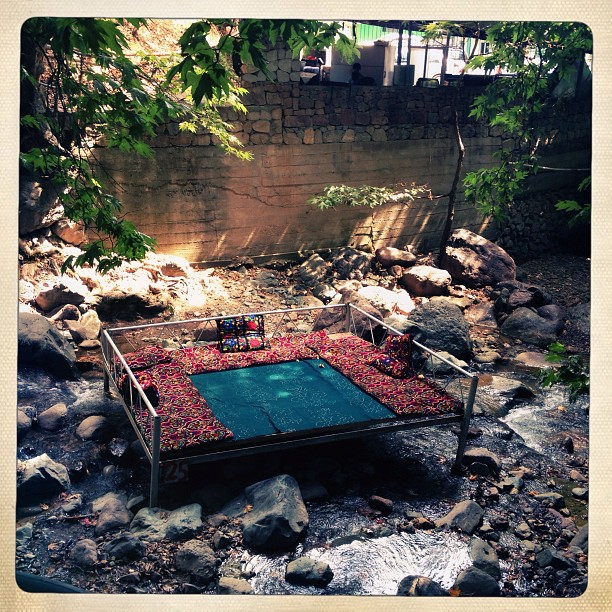 A wonderful place to have lunch. (at Varzob, Tajikistan)