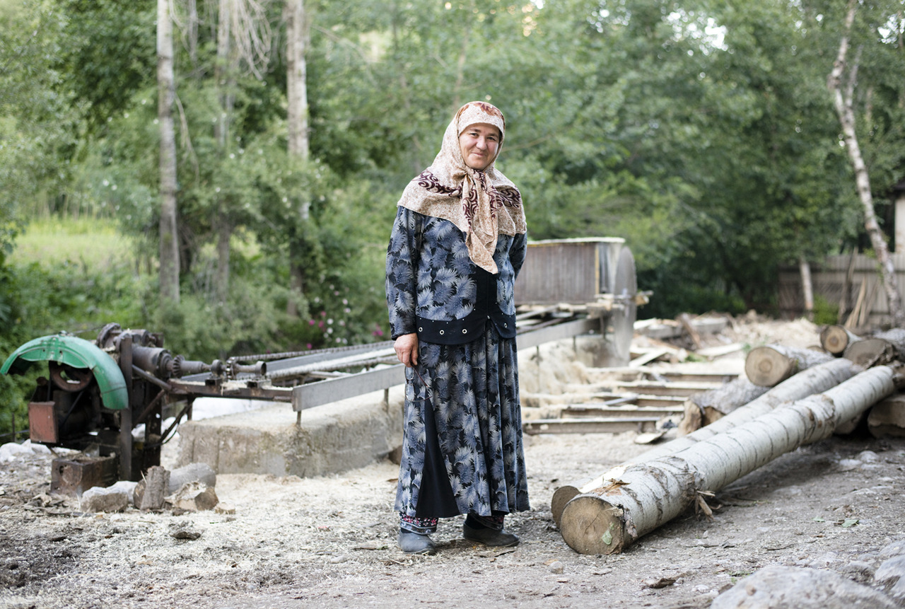 Spent the weekend in the mountains in the Uzbek village of Arslanbob with Amanda who has been living there on a Fulbright for the past 3 months. Spending lots of time shooting portraits on medium format for a separate project but this was one I made when we walked by the saw mill.