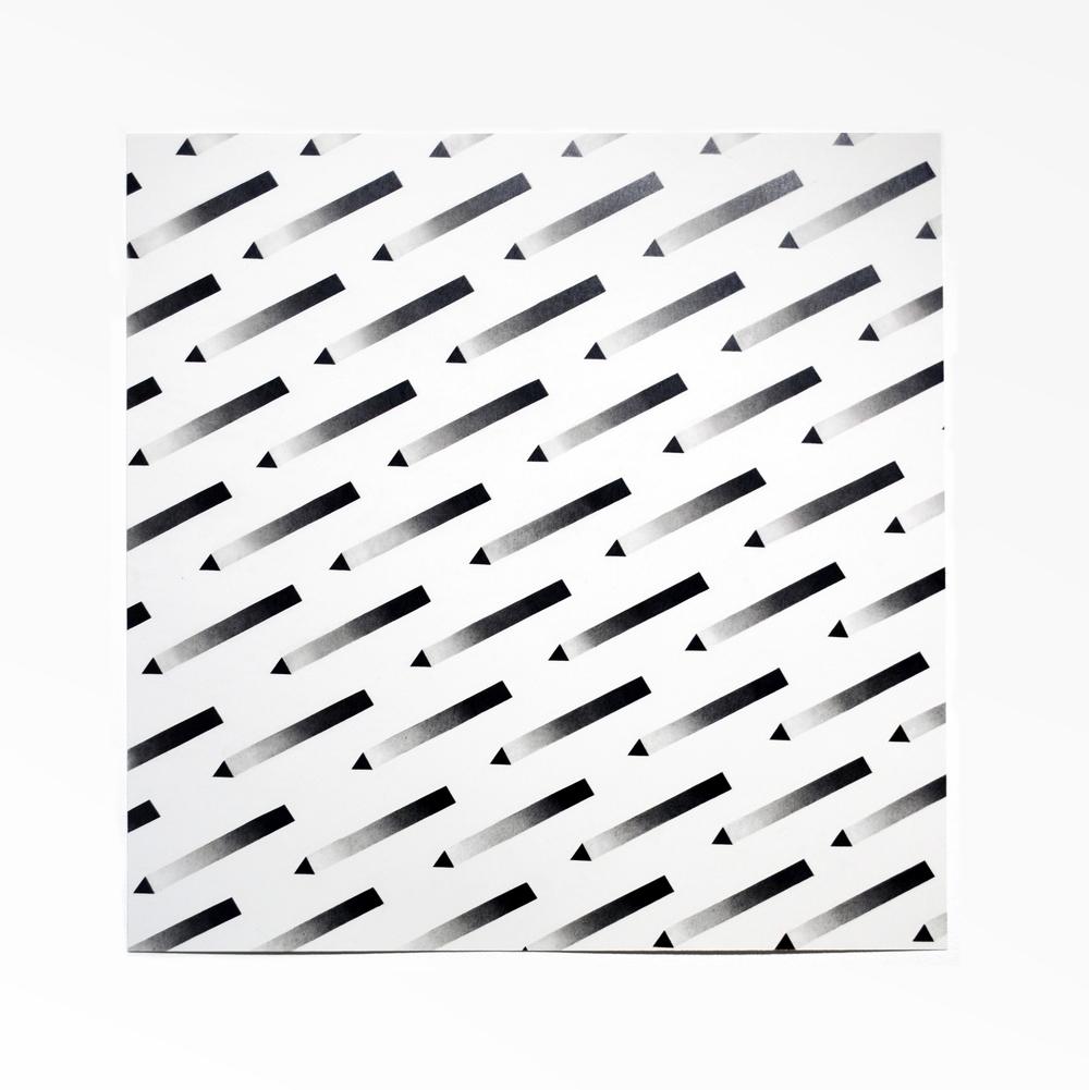 "graphite on paper  20"" x 20""  2014"