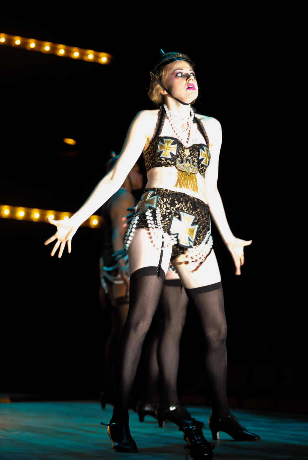 Rosie in  Cabaret  -  PlayMakers Rep  2013 - Photos by Jon Gardiner