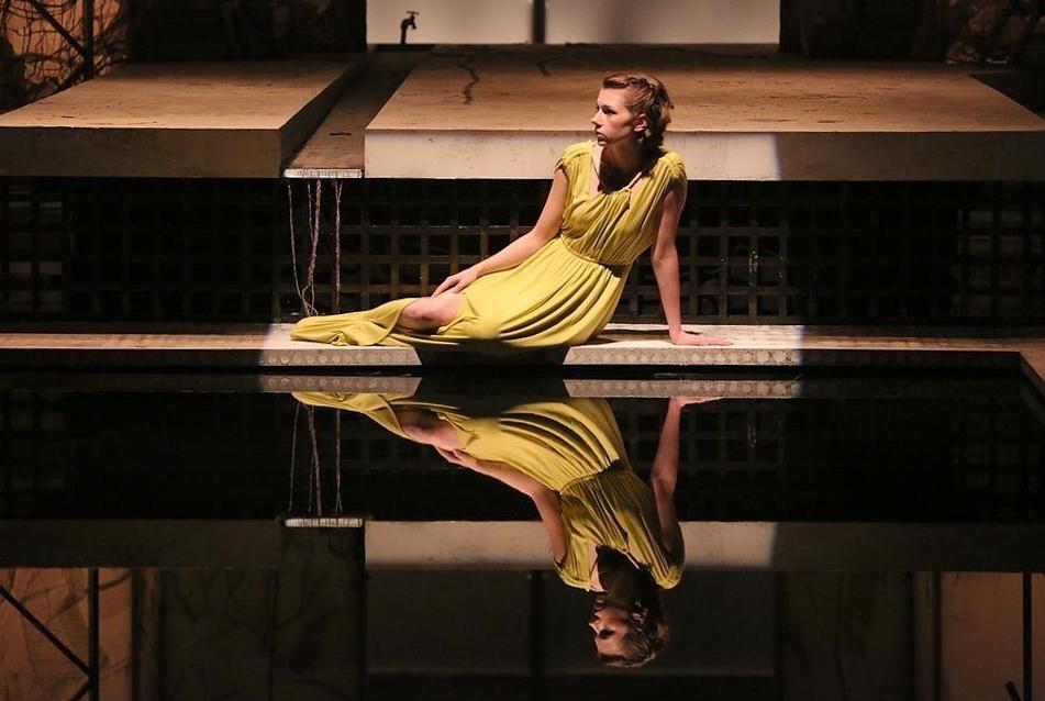 Woman 1 in  Metamorphoses -   PlayMakers Rep  2013 - Photos by Michal Daniel