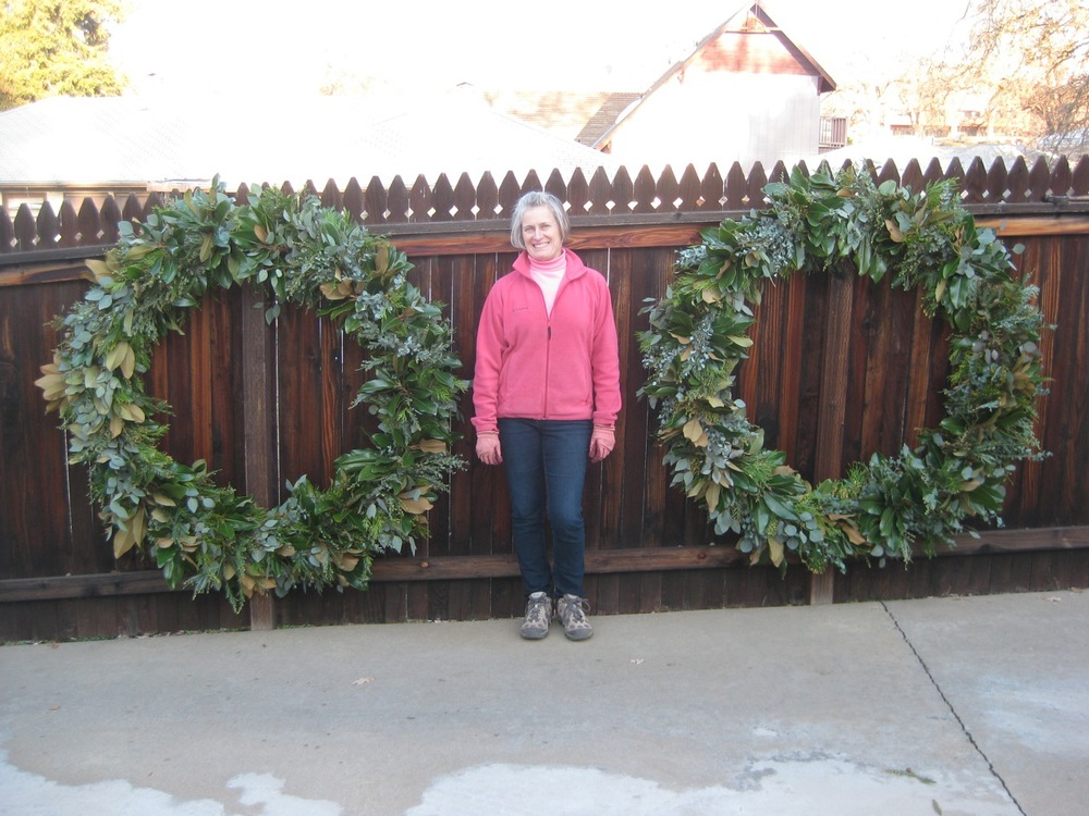 Christmas Wreaths for Saint Katharine Drexel 2013