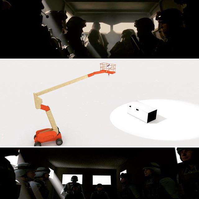 #sicario virtual mockup made in Cine Design from @cinematographydb #behindthescenes #cinematography #cinematographer #dp