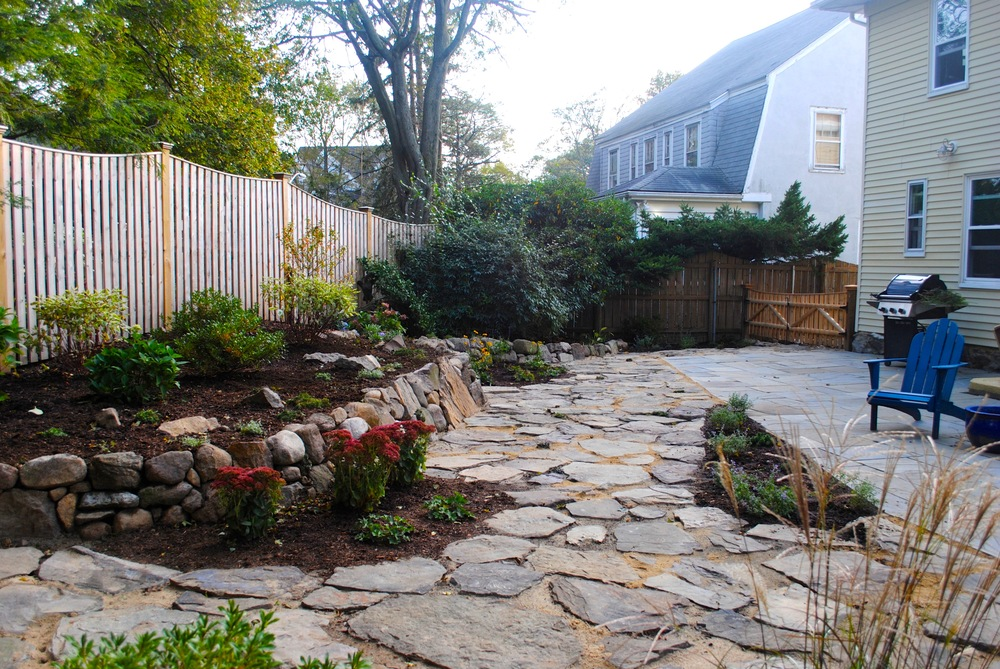 New Landscape Design and Garden Installation
