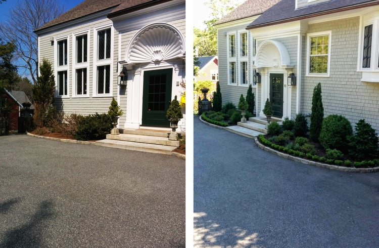 Before & After - Landscape Design