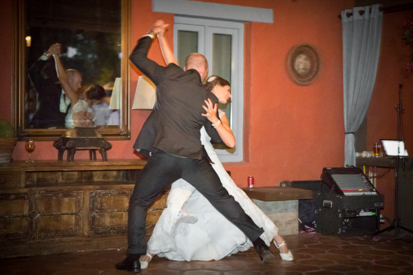 First dance - a very impressive tango!