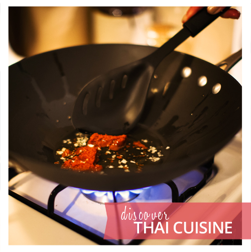 Fresh ingredients make Thai Cuisine unique
