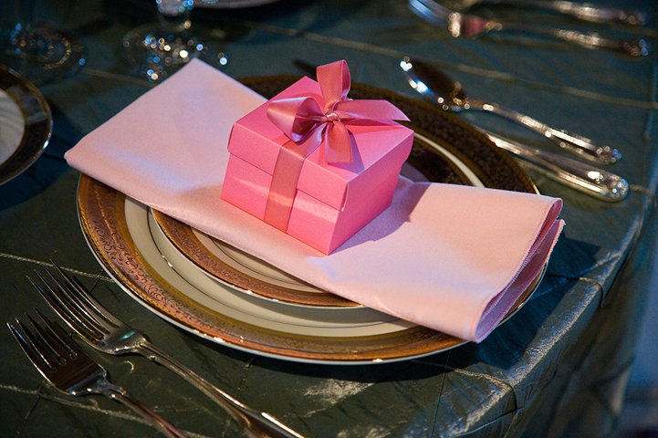 place setting • photo:david garten