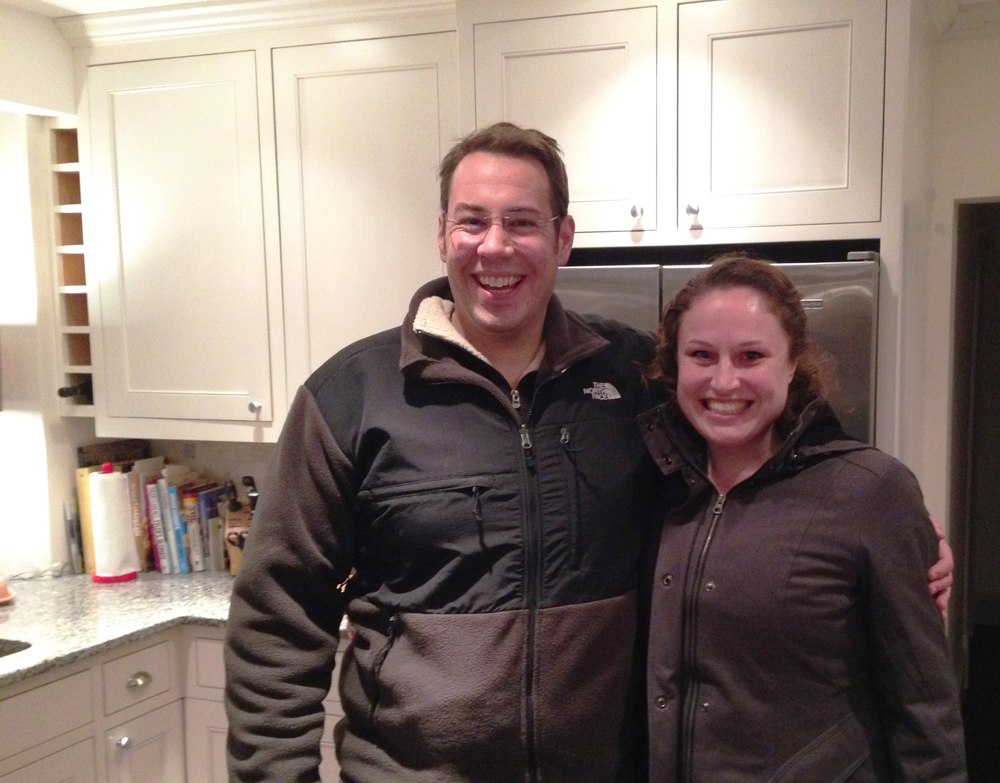 Greg and Rebecca