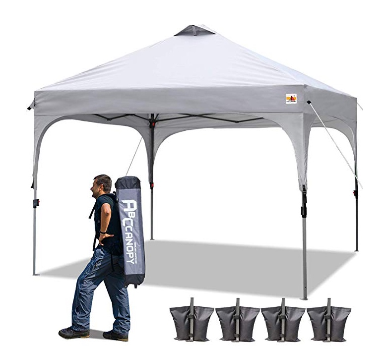10' X 10' pop-up tent - OPTIONAL: A pop-up tent can be rented for an additional $75 fee.They are often required by string players you may hire for your outside ceremony, to provide shade from the sun for their instruments.You may choose the pop-up for other uses as well.The $75 fee includes set-up and take-down by the site owner.