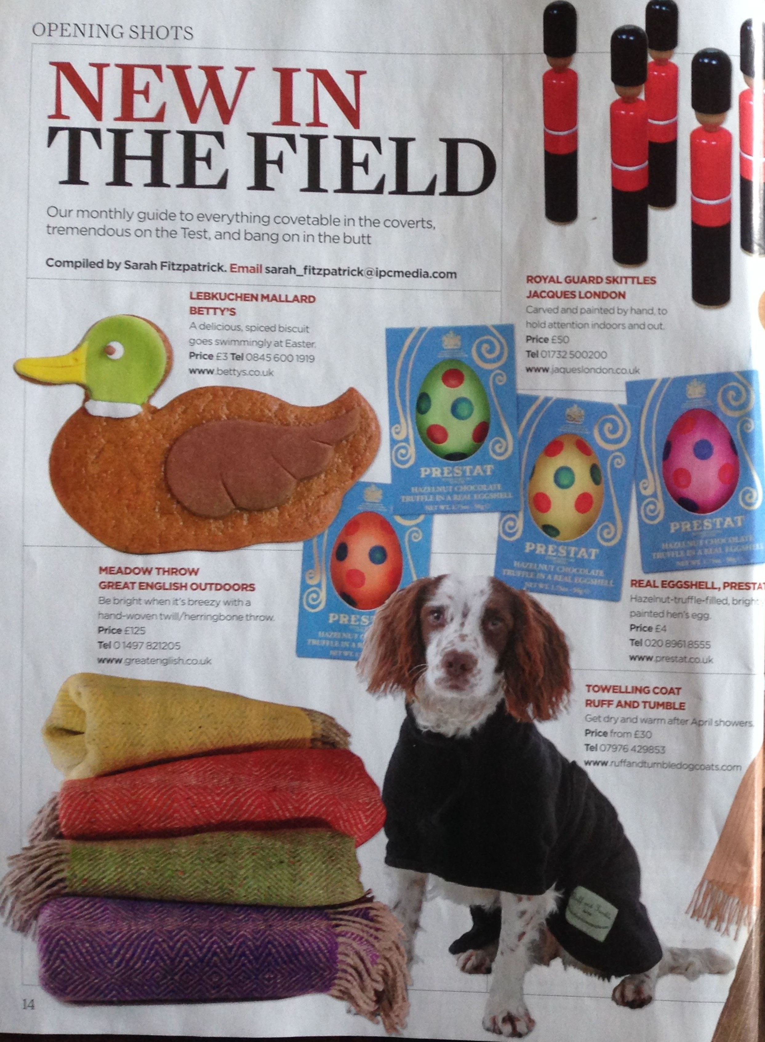 The Field Magazine.