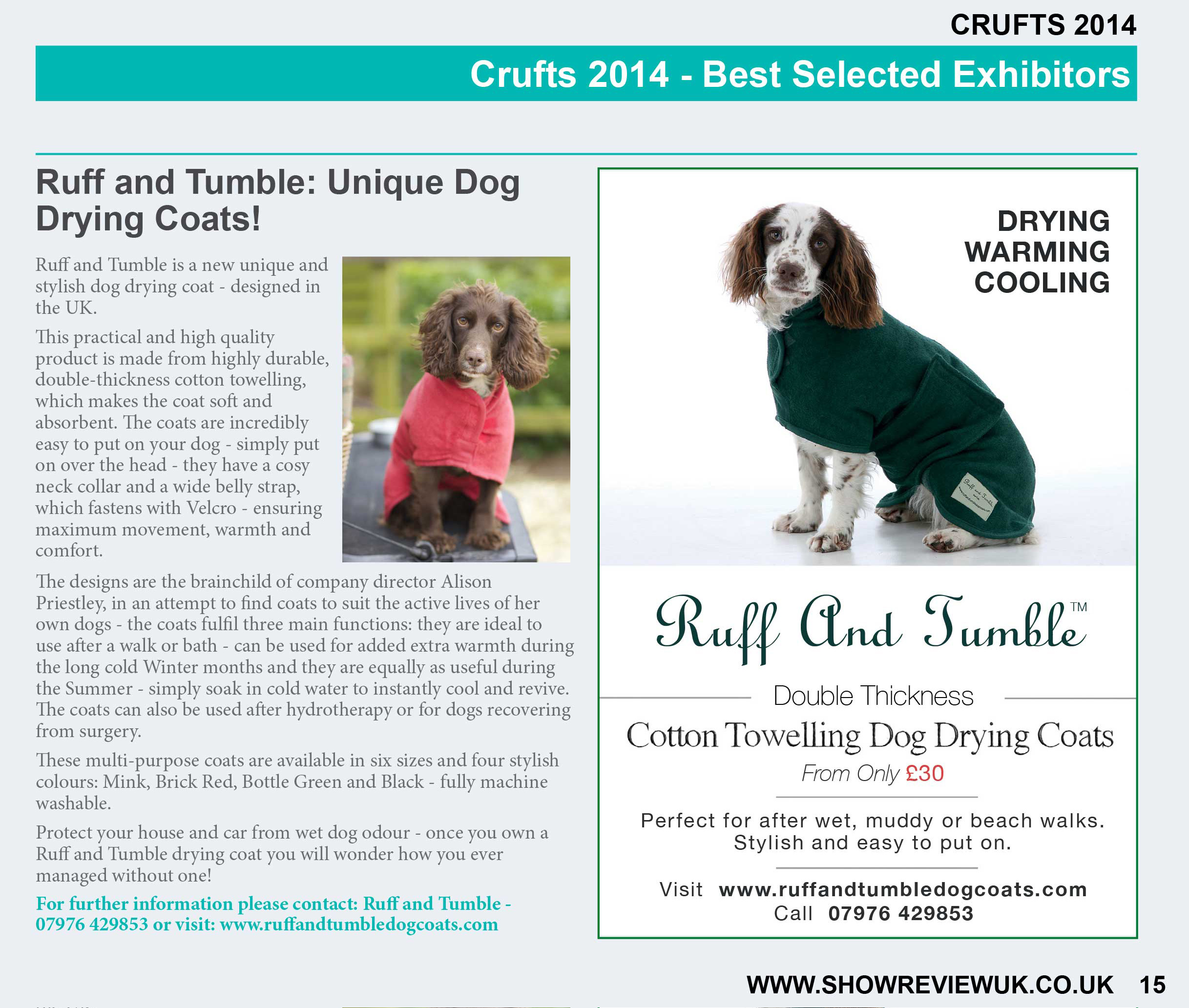 Check us out! Best in show! :)
