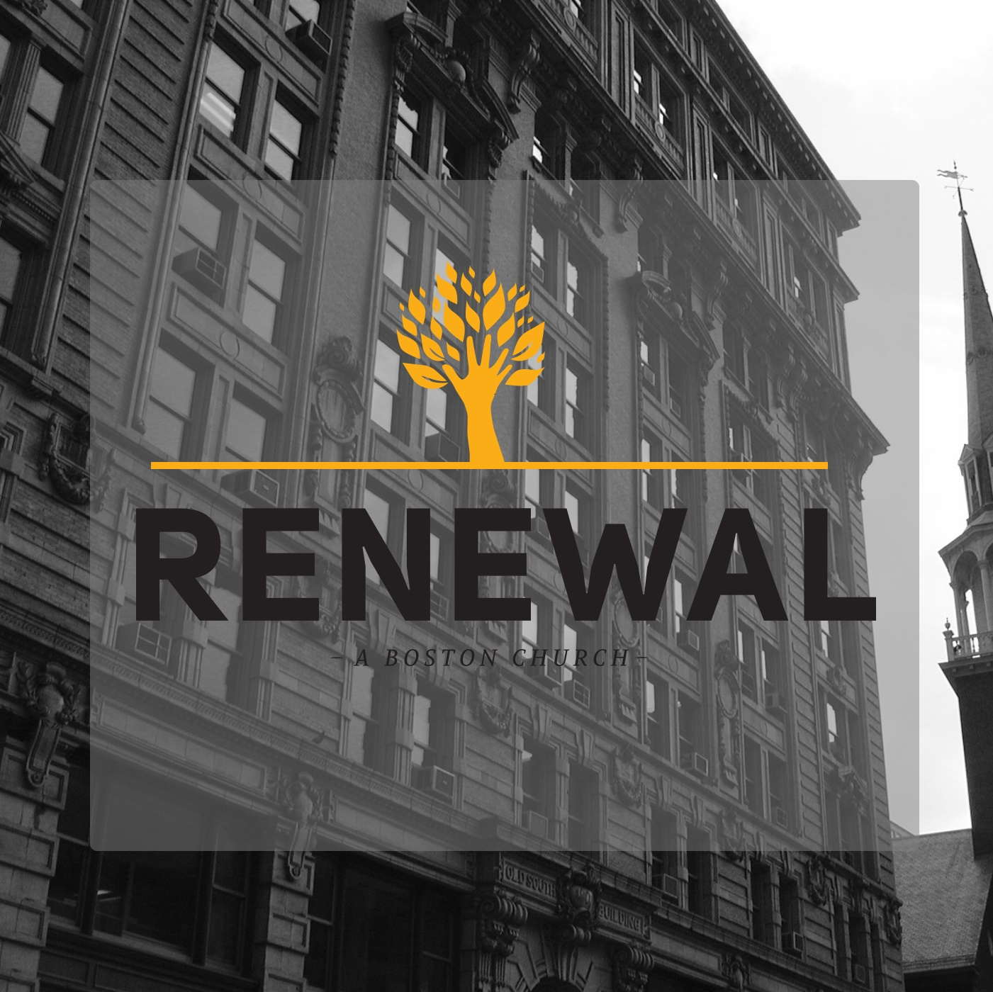 Sermon Audio - Renewal Church Boston