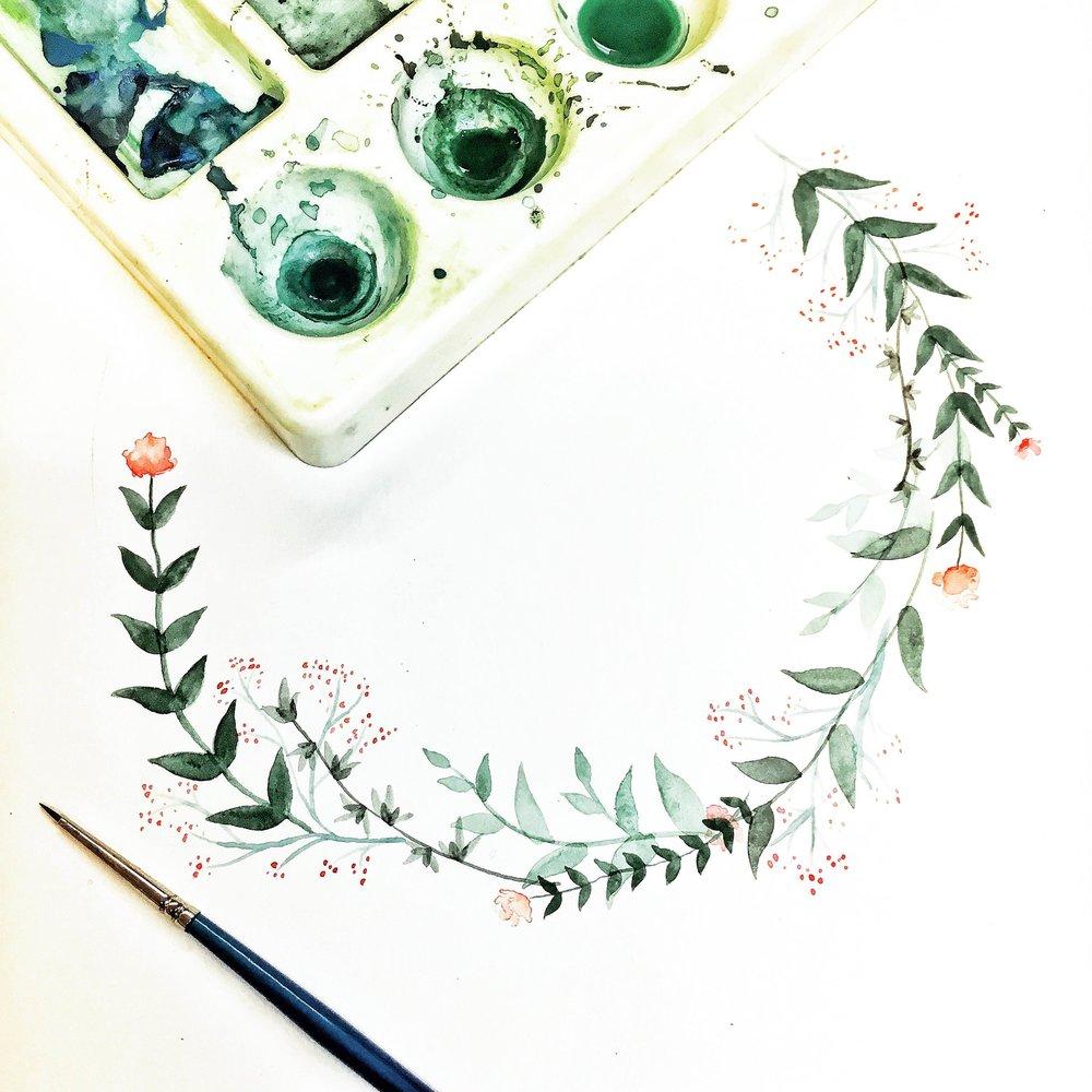round floral wreath sketch.JPG