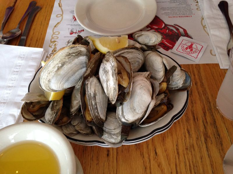 Clams from The Barnacle
