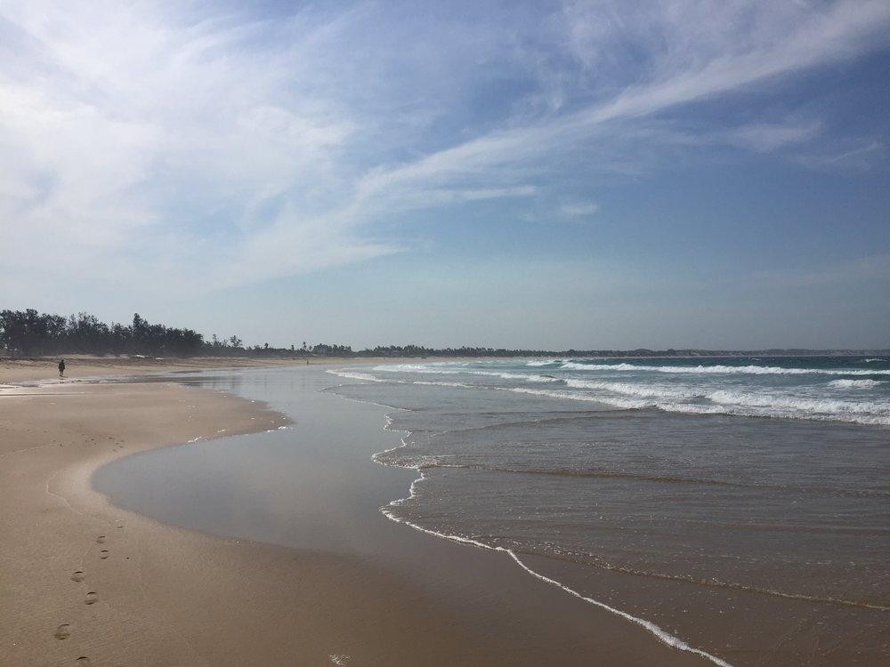 A Tofo beach