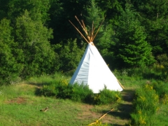 the Teepee Suite - Luxury Camping