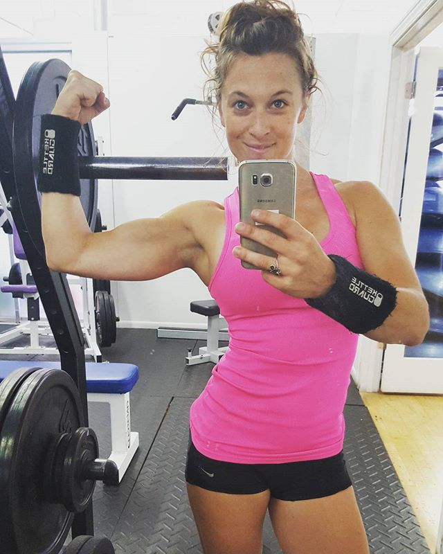 Working on my selfie game...which is much harder than lifting for me;))! #thereisnooffseason #kettlprt #gorow #gocyclestudio #idgym #activeevolution