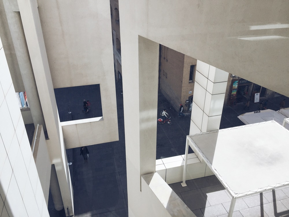 MACBA—enjoyed walking around this building even more than the art