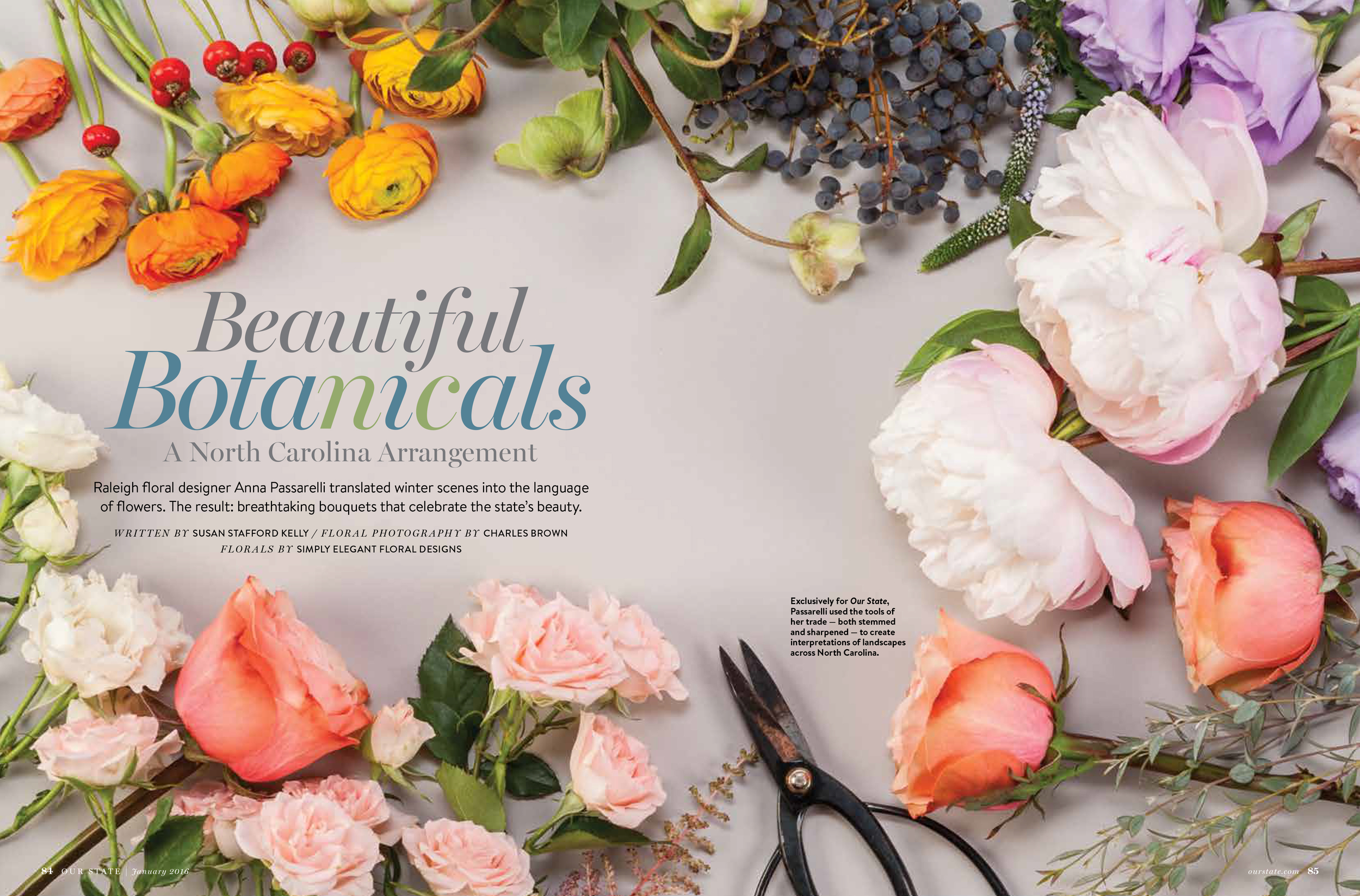 Featured Our State Magazine Meristem Floral