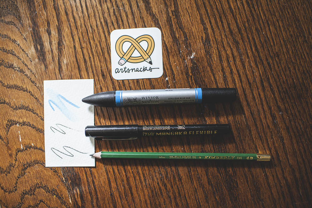 The Kimberly pencil is something most artists are likely already familiar with, though of course it's always good to have a few on hand.