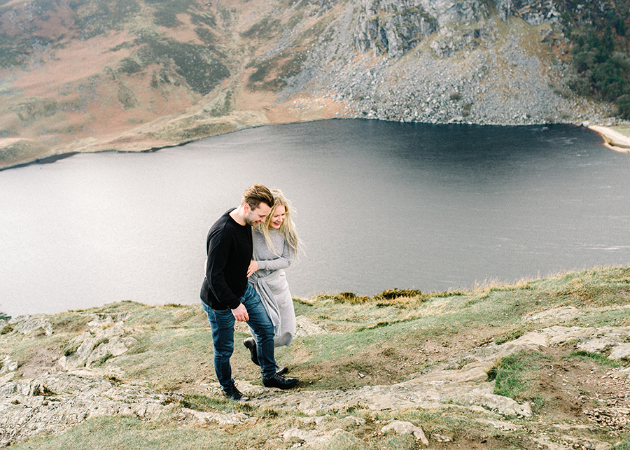 Windy Irish Mountain Engagement Shoot - Susanna Nordvall (3).jpg