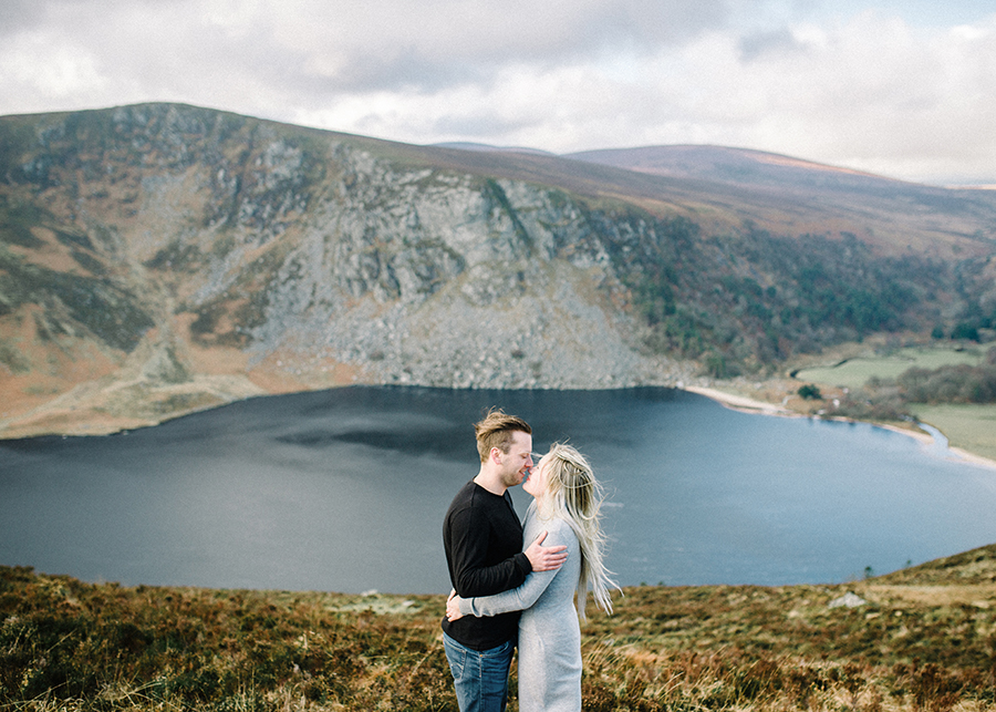 Windy Irish Mountain Engagement Shoot - Susanna Nordvall (8).jpg