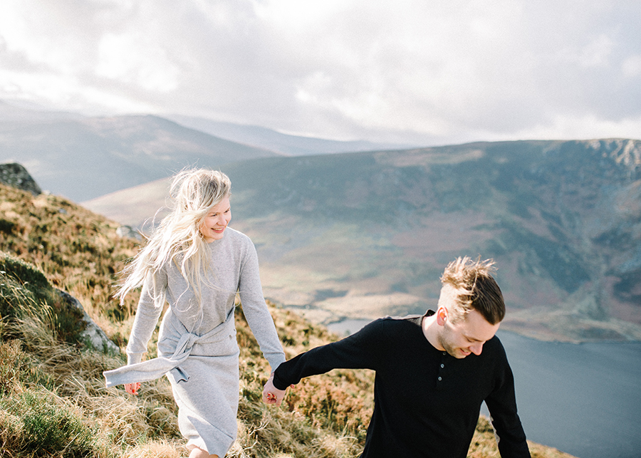Windy Irish Mountain Engagement Shoot - Susanna Nordvall (9).jpg