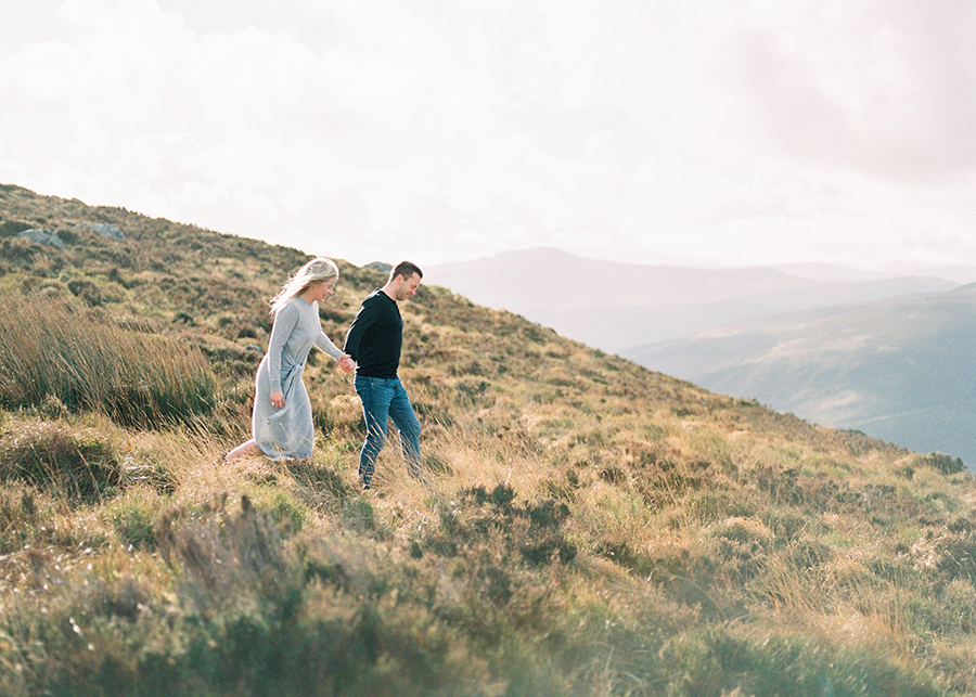 Windy Irish Mountain Engagement Shoot - Susanna Nordvall (14).jpg