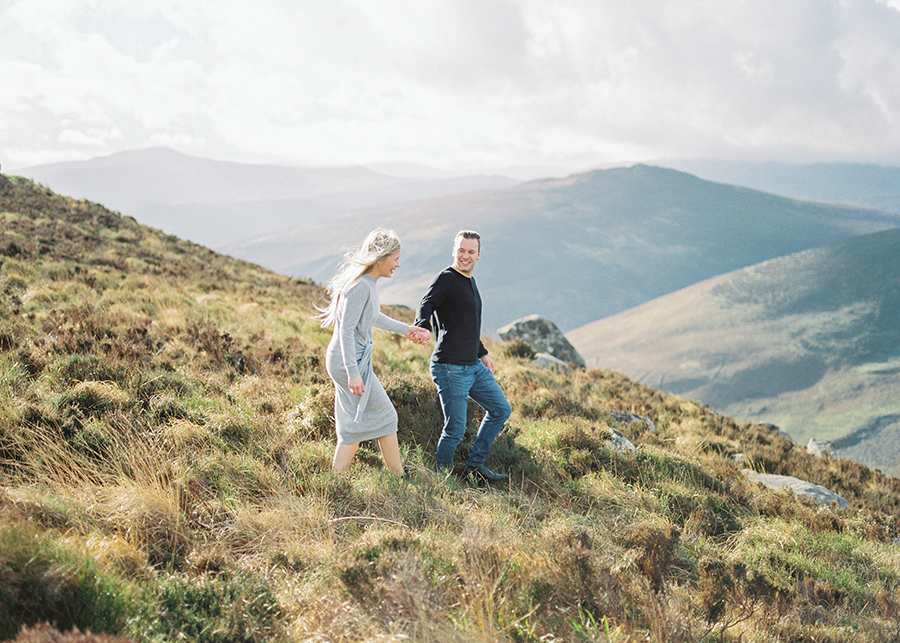 Windy Irish Mountain Engagement Shoot - Susanna Nordvall (15).jpg