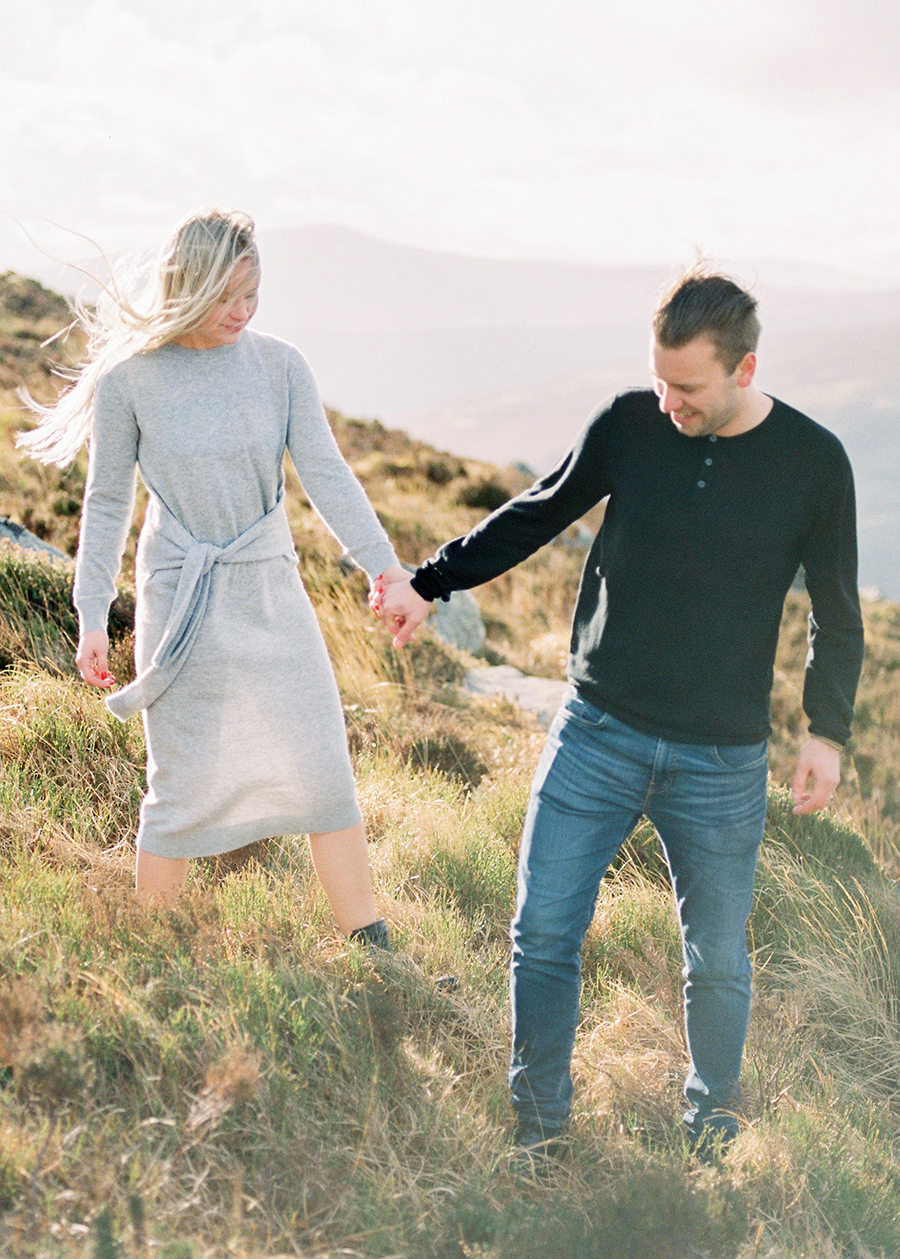 Windy Irish Mountain Engagement Shoot - Susanna Nordvall (16).jpg