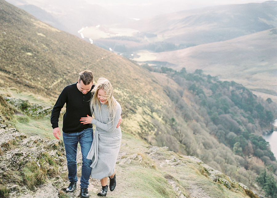 Windy Irish Mountain Engagement Shoot - Susanna Nordvall (21).jpg