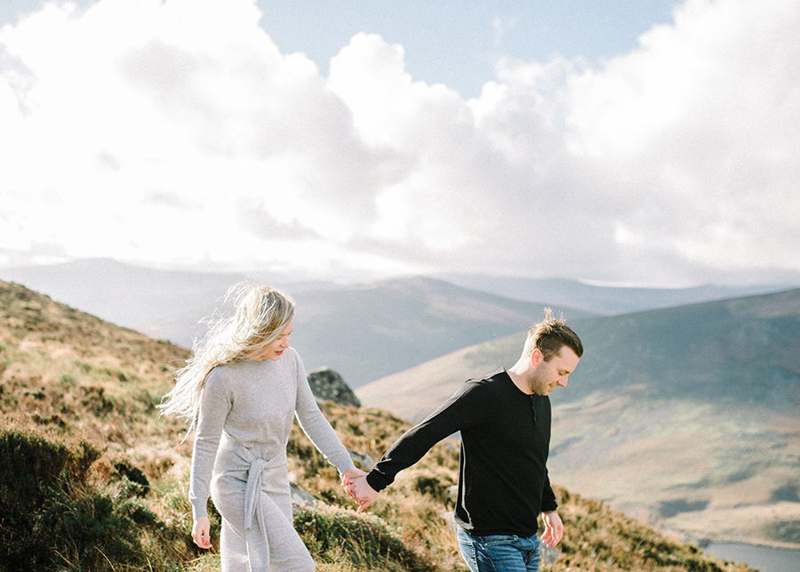 Windy Irish Mountain Engagement Shoot - Susanna Nordvall (33).jpg