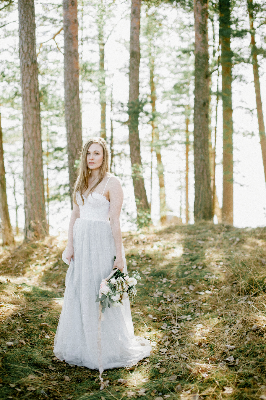 Ethereal romantic before the wedding -session