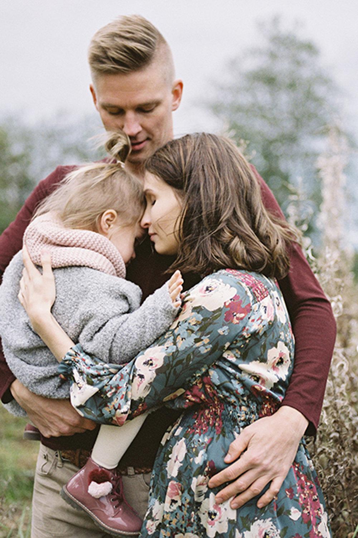 Autumnal maternity shoot
