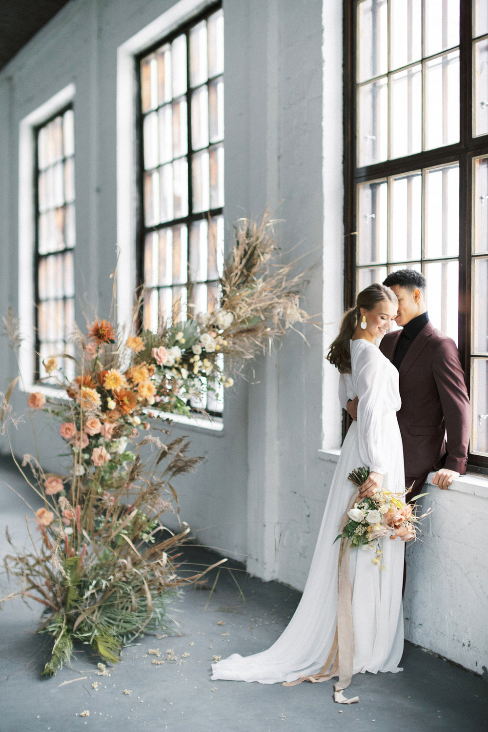 A Vibrant Loft Winter Wedding in Fiskars, Finland