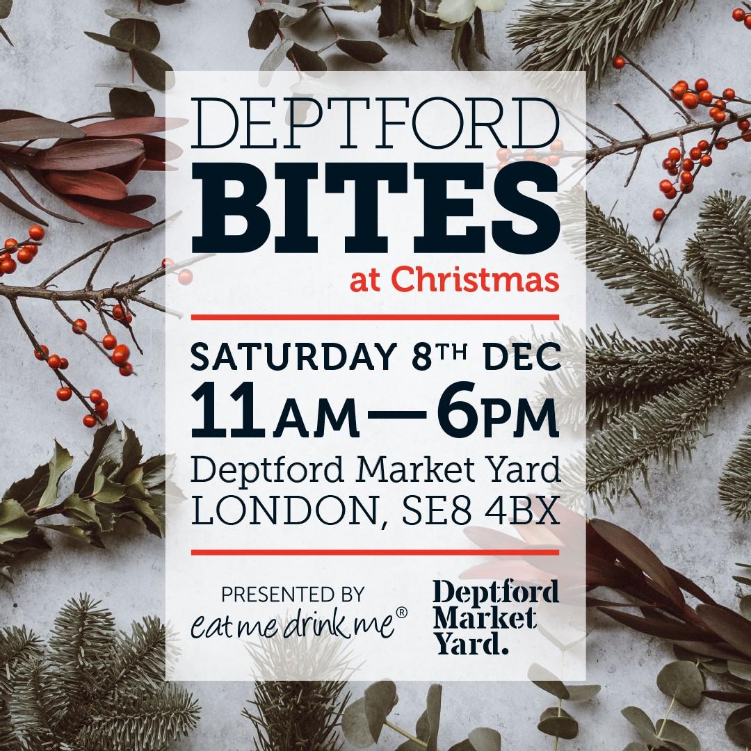 Charlotte Christmas Market.Deptford Bites Charlotte Reid