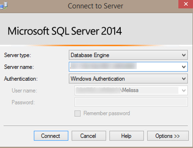 Signing Into SSMS 2014 as Domain User on Non Domain Computer