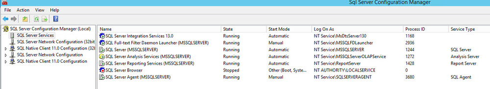 Getting Started with SQL Server 2016