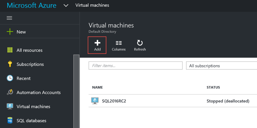 Should You Use a SQL Server Marketplace Image for an Azure Virtual Machine?