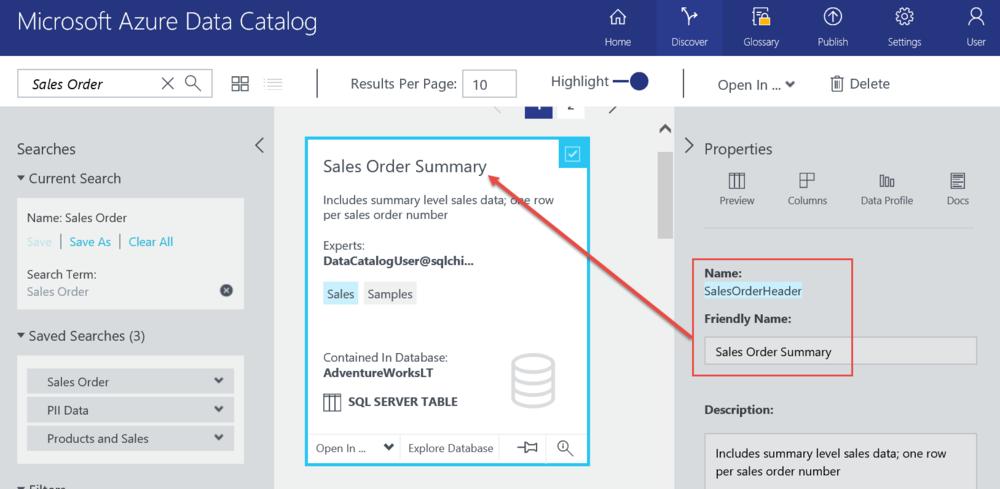 Tips for Using Azure Data Catalog