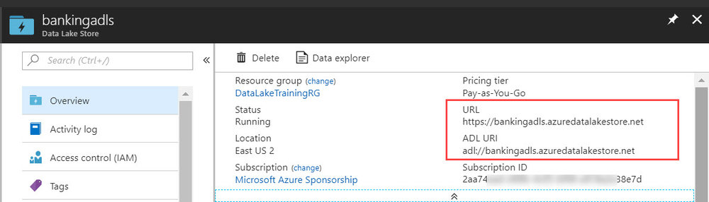 ADLS URLandURI Querying Data in Azure Data Lake Store with Power BI