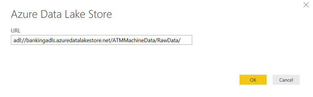 URL ADLS Folder Querying Data in Azure Data Lake Store with Power BI