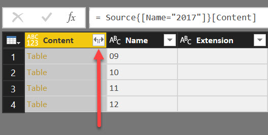 PowerBI ADLS CombineFiles Querying Data in Azure Data Lake Store with Power BI
